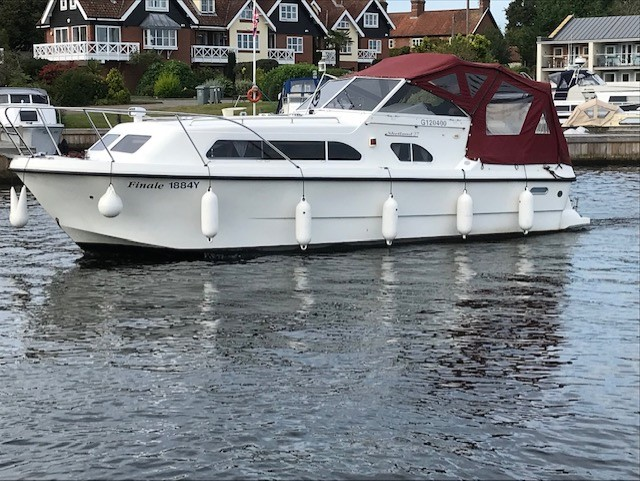For sale Shetland 27 from Norfolk Boat Sales, Wroxham